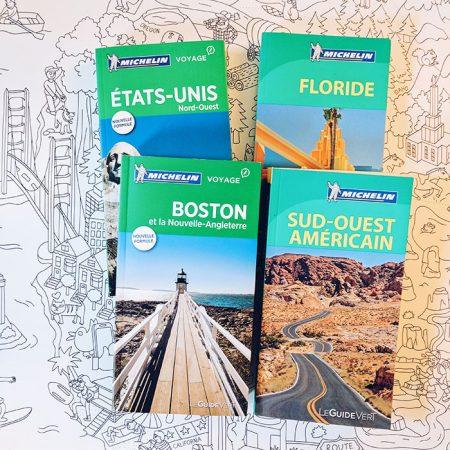 Guides de voyage Michelin