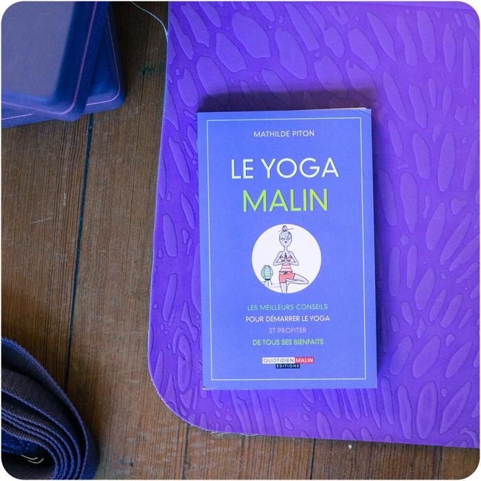 livres mathilde piton Yoga Malin