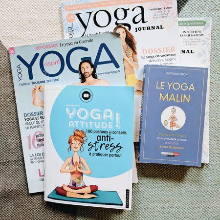 Livres yoga Mathilde Piton