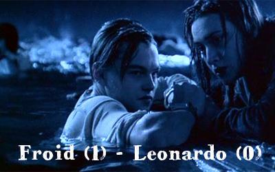 Leonardo di Caprio... il fait pas chaud par ici