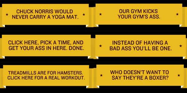 Phrases d'encouragement pour s'inscrire au cours d'essai à la boxe