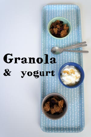 Granola & Yogurt - La tartine gourmande
