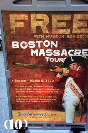 Boston Massacre - Freedom Trail - Boston