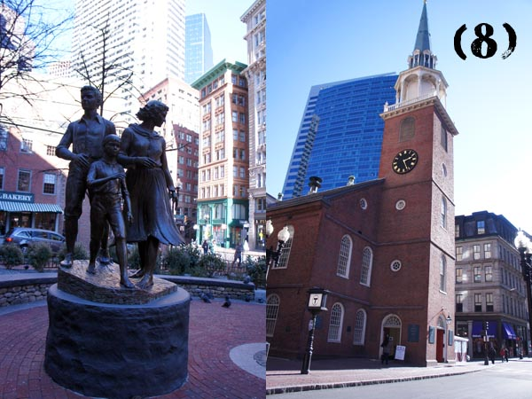 Old South Meeting House - Freedom Trail - Boston