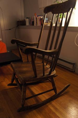 Rockin' chair Grandma