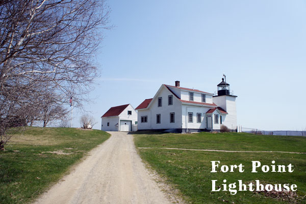 Fort Point Lighthouse, Maine