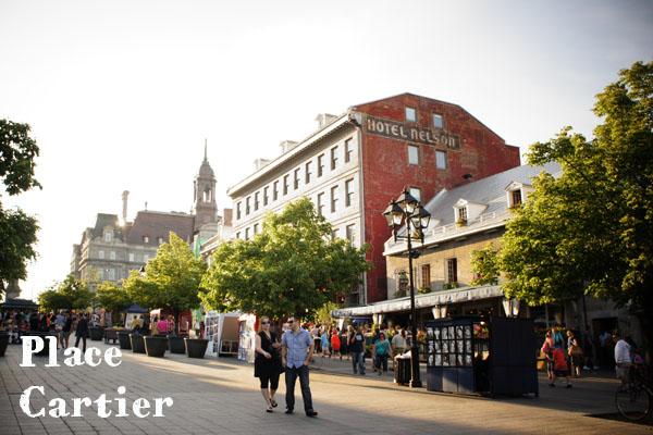 Place Cartier Montréal