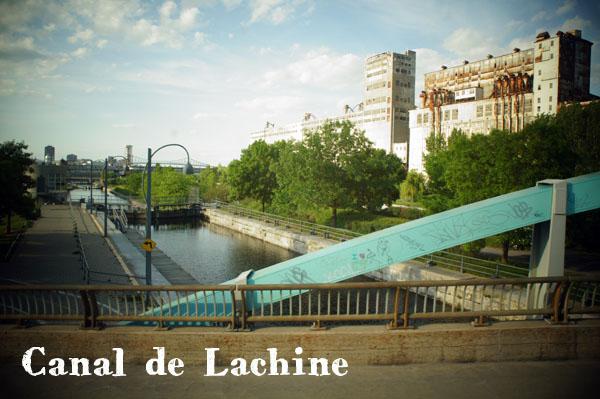 Canal de Lachine Montréal, vu depuis le Duck Tour !
