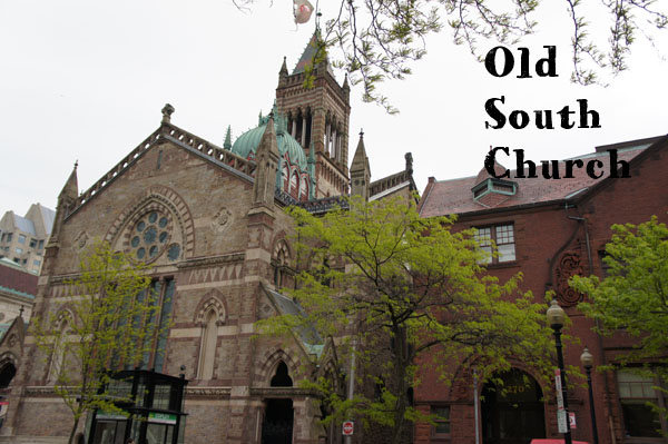 Old South Church - Copley