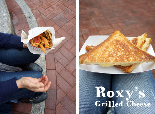 Roxy's- grilled cheese
