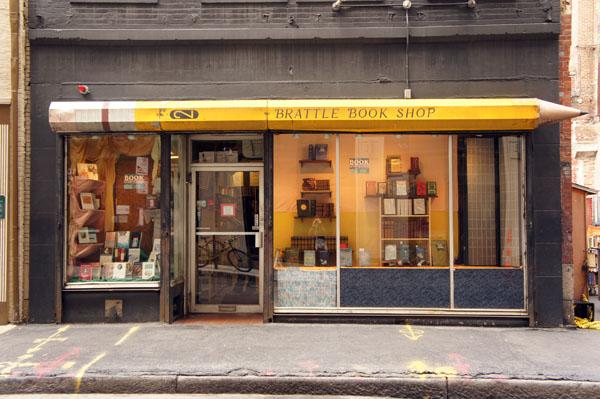 Brattle Bookstore, Boston