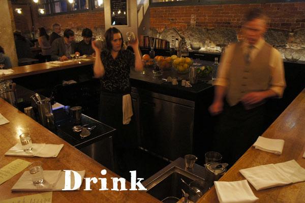 Drink - Boston - cocktail bar