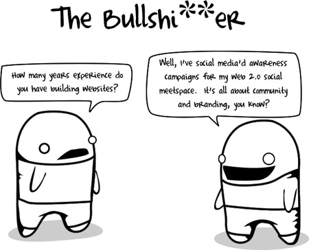 The Bullshitter - The Oatmeal