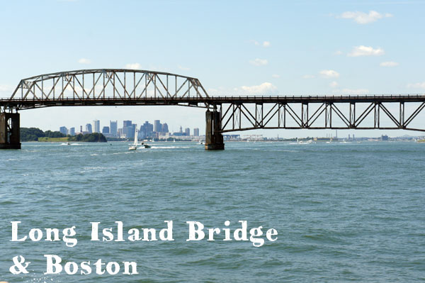 Long Island Bridge Boston Harbor Islands