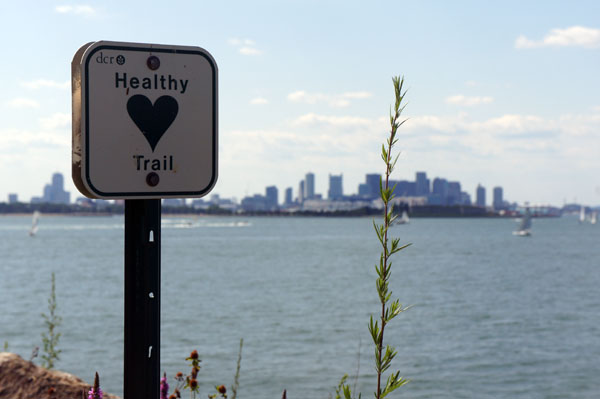 Healthy Trail Spectacle Island