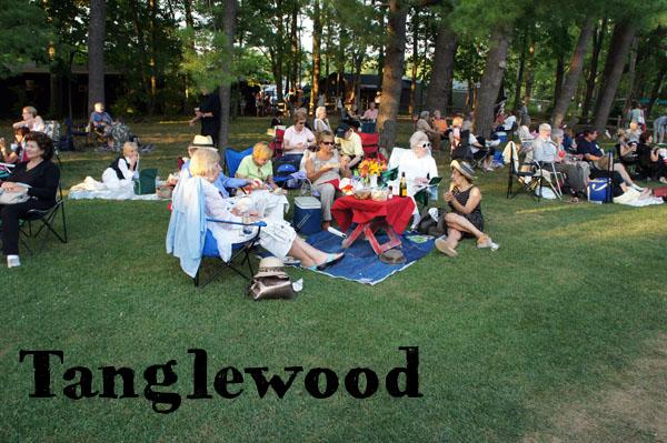 Pique nique à Tanglewood