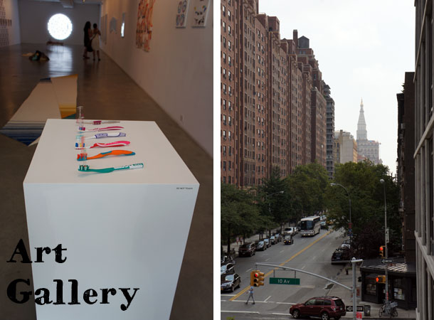 Chelsea Art Gallery - View from the High Line - New York