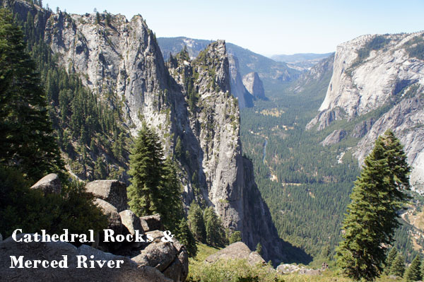 Merced River and Cathedral Rocks - Yosemite - www.maathiildee.com