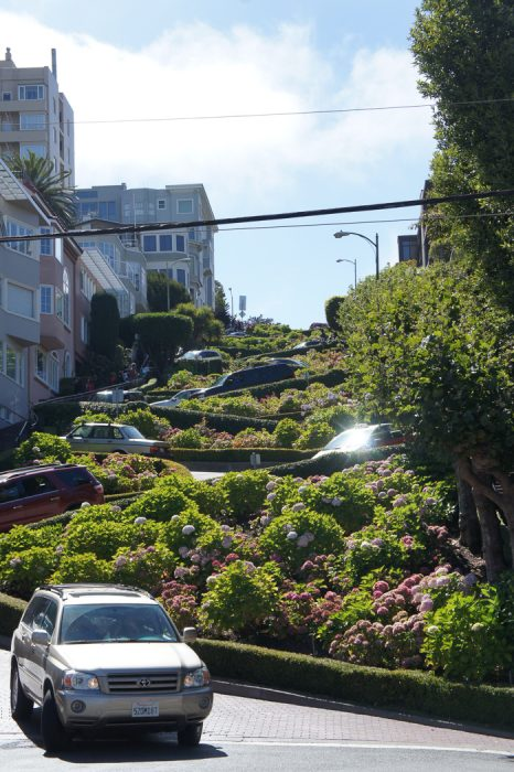 San Francisco USA Lombard Street