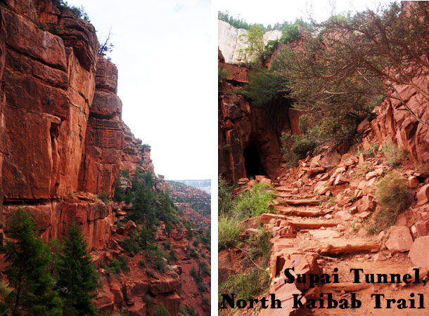 Supai Tunnel - North Kaibab Trail - Grand Canyon