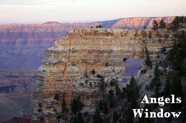 Angel Windows - Grand Canyon