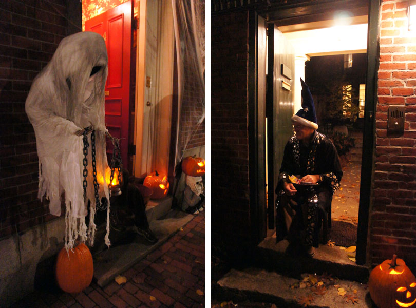 Fantômes et magiciens, Halloween, Beacon Hill, Boston