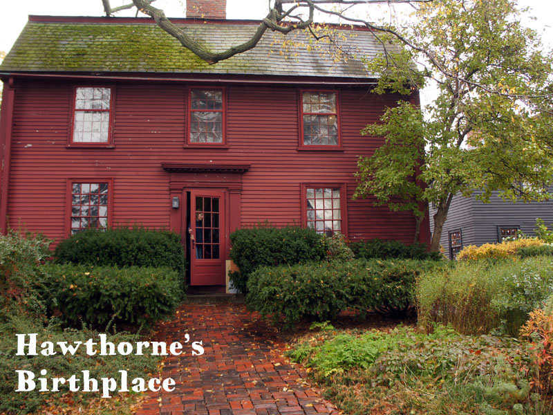 Hawthorne's Birthplace, Salem