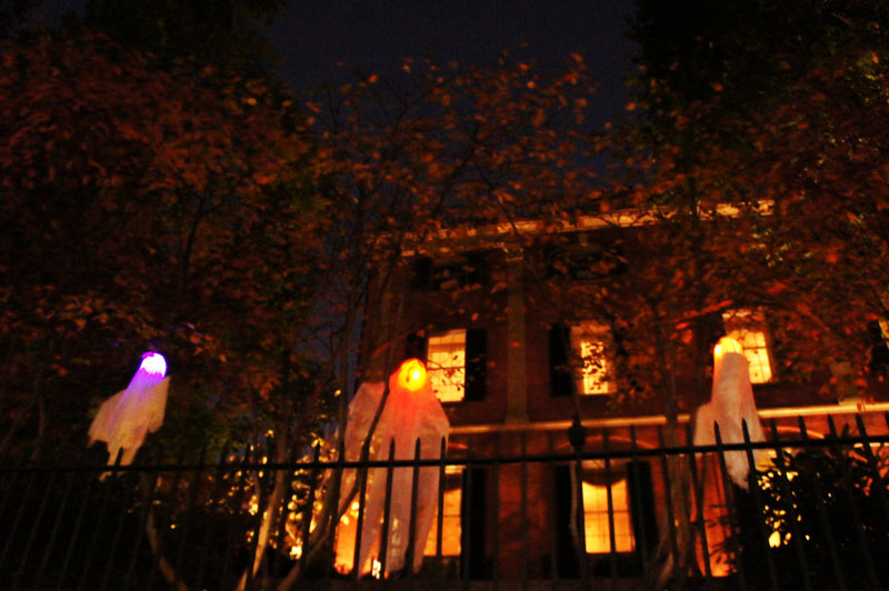 Les fantômes d'Halloween, Beacon Hill, Boston