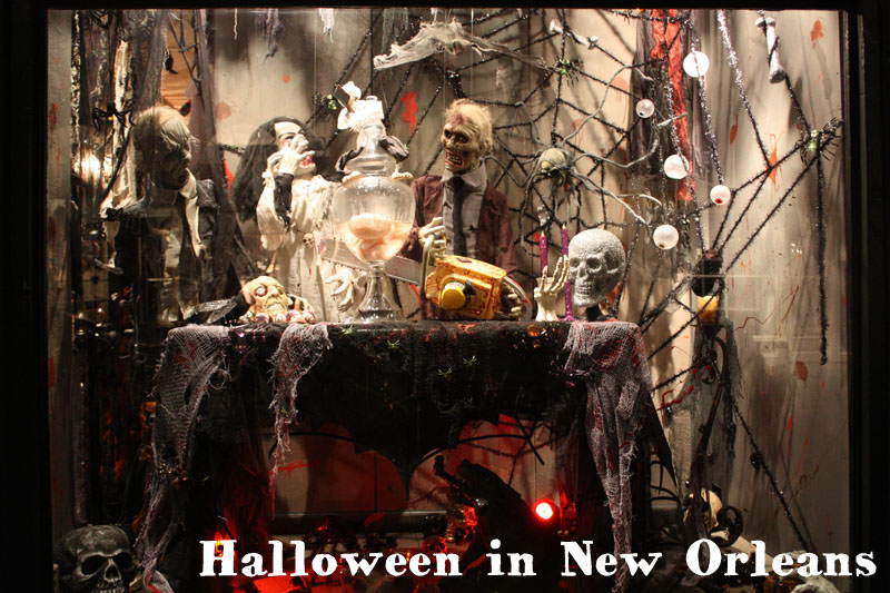 In New Orleans Halloween Jazz And Beignets Le Blog