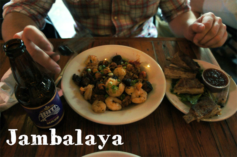 Jambalaya chez Coop's à la Nouvelle Orléans
