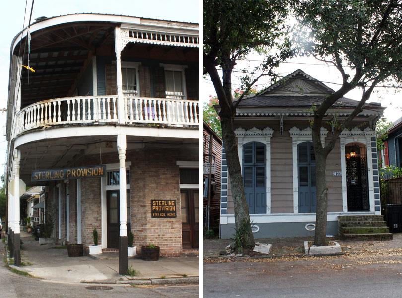 Maisons de Faubourg Marigny New Orleans