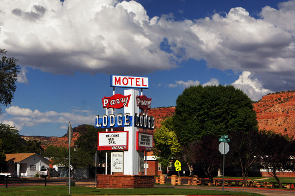Parry Lodge, Kanab Utah