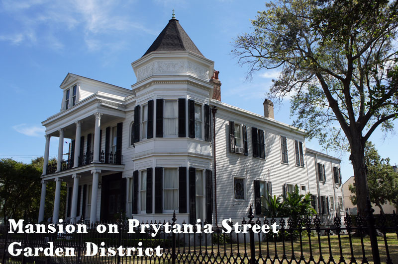 Mansion on Prytania Street, Garden District, New Orleans