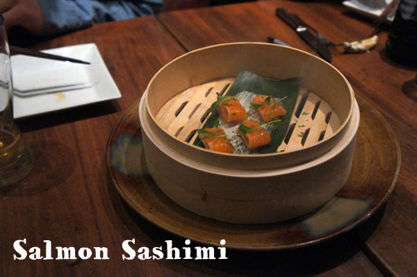 Sashimi Salmon Oya Boston