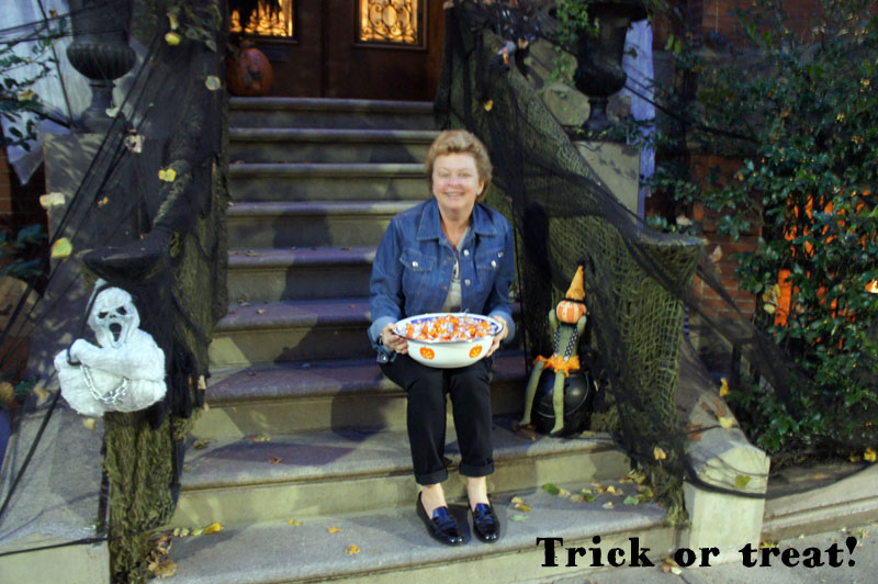 Trick or treat ! Halloween in Boston