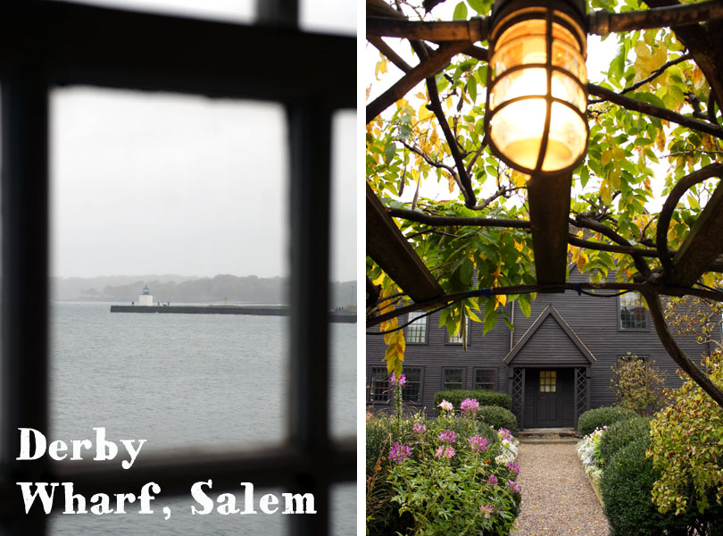 Derby Wharf House, Salem - the house with the seven Gabbles