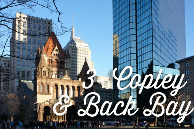 Back Bay et Copley