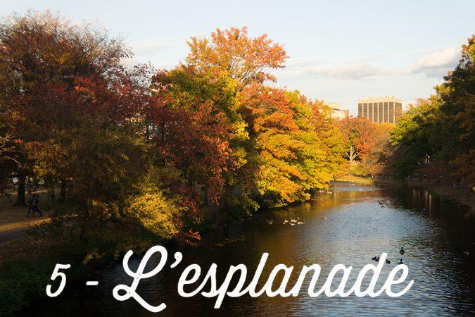 L'esplanade Boston
