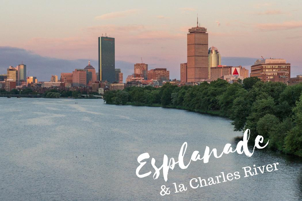 Esplanade et Charles River