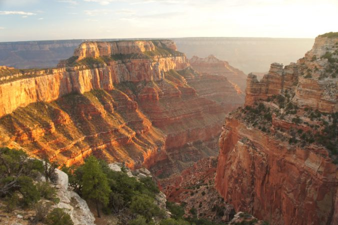 Grand canyon au coucher de soleil