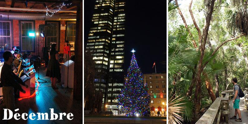 Décembre à Boston : Swing Dance, décos de Noël et vacances en Floride