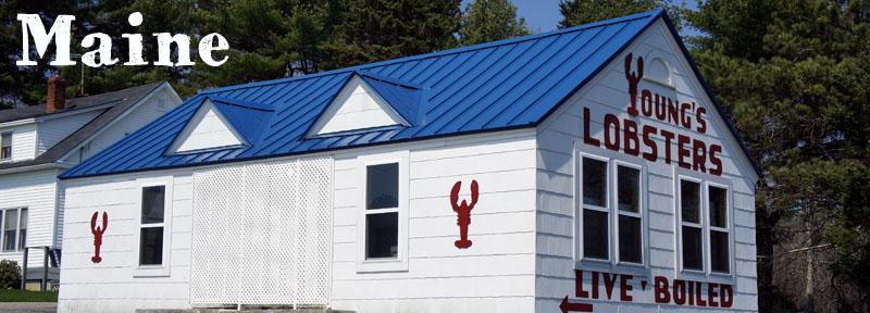 Le Maine, Nouvelle Angleterre, Etats-Unis