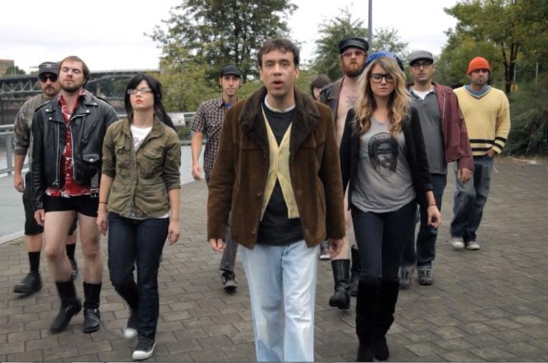 Portlandia hipster look