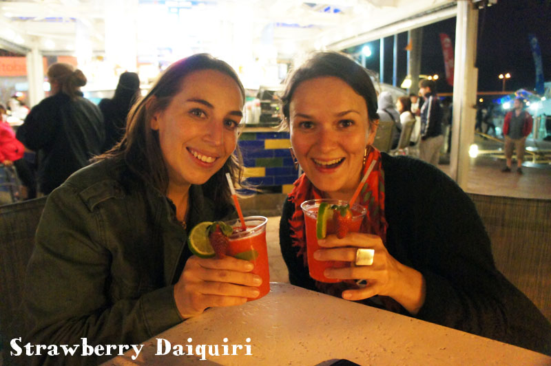Strawberry Daiquiri with Amandine