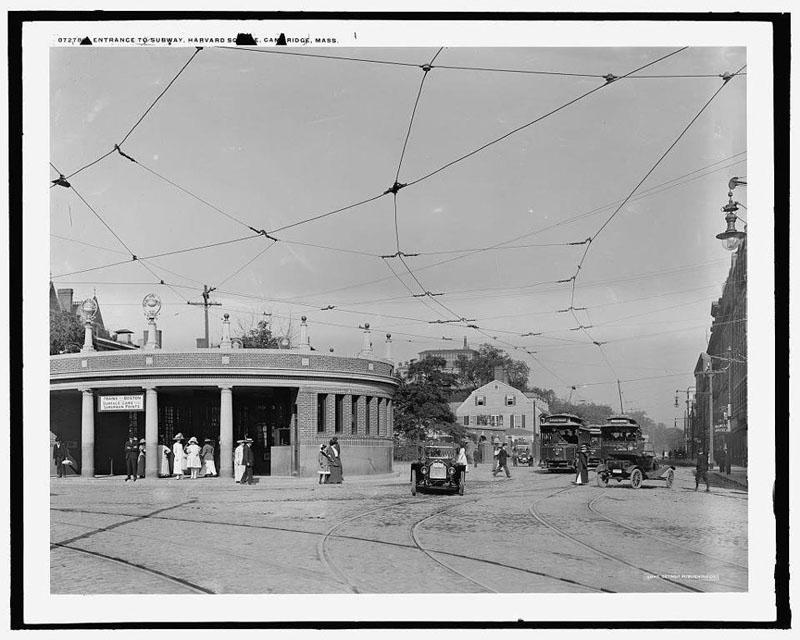 Dirty Old Boston - Harvard Square in the 1915 era