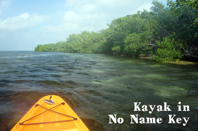 Kayak in No Name Key Florida