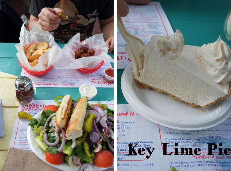 No Name Pub, Key Lime Pie, Big Pine Key Florida