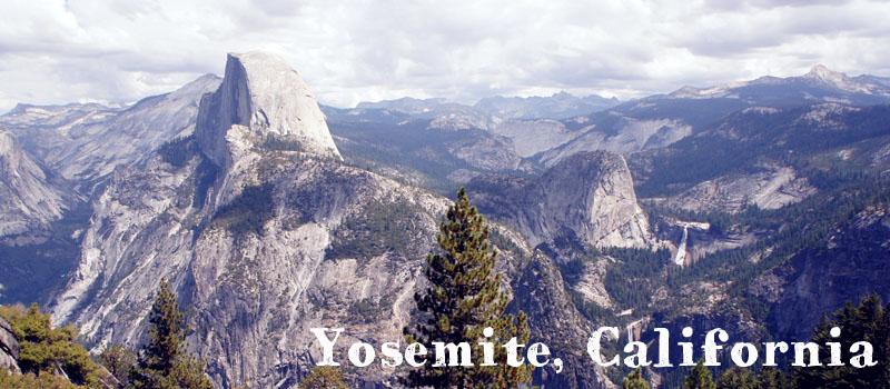 Yosemite National Park, California, Les grands parcs americains