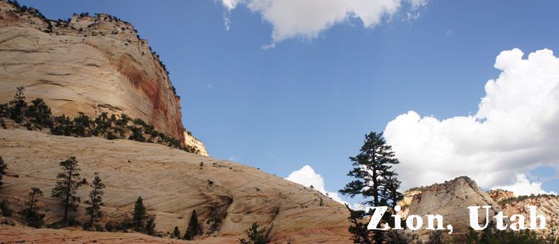 Zion National Park, Utah, les grands parcs americains