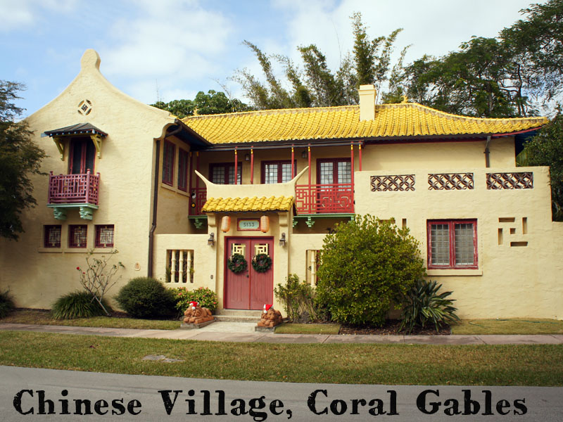 Chinese Village - Coral Gables - Miami - Florida